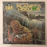 Star Wars Planet Hoojibs 33 1/3 RPM Book & Record New Old Stock Sealed