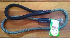 NWT KONG Rope Reflective Padded Handle Dog Leash Green 4 Ft.