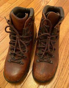 Alico Hiking Boots Mens 9.5 Classic Alpine Waterproof Leather Vibram