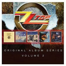 ZZ TOP Vol. 2 5CD BRAND NEW First Album/Tejas/El Loco/Afterburner/Recycler