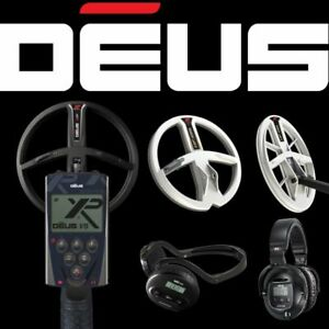 """XP Deus Metal Detector - FREE UK Delivery (WS4, WS5, 9"""",11"""" X35 Coil Options)"""
