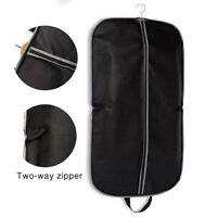 Foldable Zipper Travel Garment Suits Bag Dress Coat Storage Cover Dust Protector