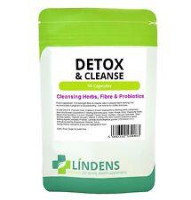 Detox & Cleanse Psyllium Fibre Probiotic Cleansing 90 Capsules Aloe Vera Weight