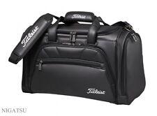 NEW TITLEIST AJBB72-BK Duffle Bag / Boston Bag GOLF BLACK from JAPAN