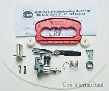 Cox 049 Control Line Model Airplane C/L Starter Kit .049 Engine - Standard