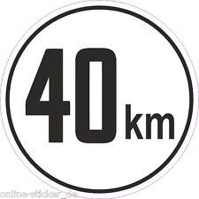 Traktor 40 km/h Schild Baumaschine Deutz Fendt RS09 GT Famulus 1 Aufkleber 2075