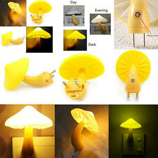 Bed LED Mushroom Night Light Dreambed Lamp Illumination Efficient EU