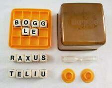 VINTAGE 1970's Boggle Letter Cube 16 Letter Dice -Timer & Shaker Parts & Pieces