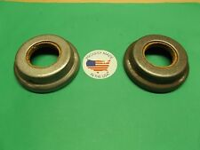 1932 CHEVROLET CONFEDERATE DELUXE REAR INNER WHEEL SEALS PAIR NEW OLD STOCK USA