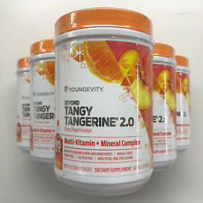 Youngevity Dr. Wallach Beyond Tangy Tangerine BTT 2.0 6 Pack Canisters