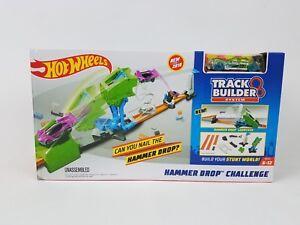 Hot Wheels Track Builder Hammer Drop Challenge