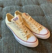 Nwob Converse All Star Canvas Sneakers Mens Size 17 (18) Natural