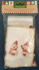 MAKE YOUR OWN - 2 Snowmen Hanging Christmas Decoration - Not a toy, Adults only