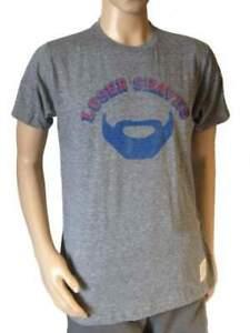 New York Rangers Retro Brand Gray Loser Shaves Beard T-Shirt