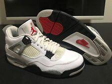 2016 Nike Air Jordan 4 Retro White Cement Size 10.5 GUC