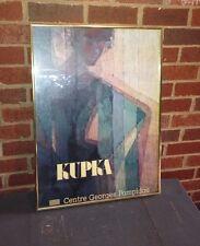 F Kupka Vtg Poster Plans Par Couleurs 1910-1911 Paris France 1981 MNAM Czech Art