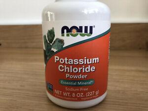 NOW Potassium Chloride Powder