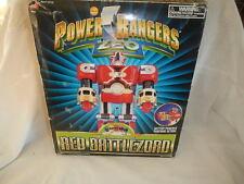 POWER RANGERS ZEO Deluxe Red Battlezord