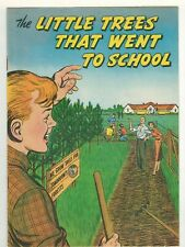 """1952 """"Little Trees That Went To School� Comic International Paper Co Complete"""