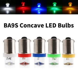 1000Pcs White Car LED light Concave LED BA9S 1 LED Dashboard Wedge Side Bulbs