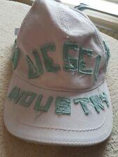 DIESEL designer Beach Sun Hat cap Child Girls Kids white excellent Authentic