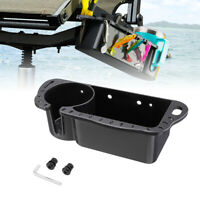 UNIVERSAL BOAT SEAT TOOL CADDY WITH CUP HOLDER and OPTIONAL GOODIES
