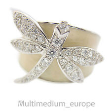 Modernist Silber Libelle Ring cubic Zirkonia dragon fly silver ring 🌺🌺🌺🌺🌺