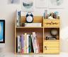 DIY Wood Desk Organizer Office Storage Box Desktop Tray Pen Pencil Holder Useful