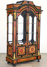 VITRINE MARQUETERIE BOULLE ARMOIRE VITREE STYLE NAPOLEON III SECOND EMPIRE