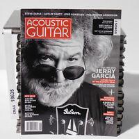 Jerry Garcia Grateful Dead ACOUSTIC GUITAR MAGAZINE June 2015 Steve Earle