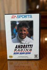 Sega Genesis Mario Andretti Racing 1994. Great Condition! Original box & manuals
