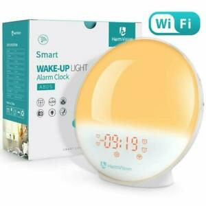 HeimVision A80S Digital Sunrise Alarm Clock