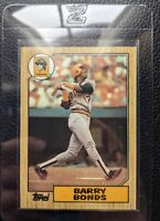 1987 TOPPS #320 BARRY BONDS ROOKIE CARD RC PITTSBURGH PIRATES