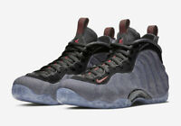 Nike Air Foamposite One Denim Size 8-10.5 Obsidian Black Red 314996-404