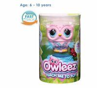 Owleez Flying Baby Owl Interactive Toy - Pink Brand New