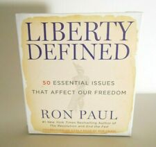 Liberty Defined : 50 Essential Issues That Affect Our Freedom by Ron Paul CD