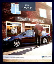 Prospekt brochure 2014 Subaru Legacy (USA)