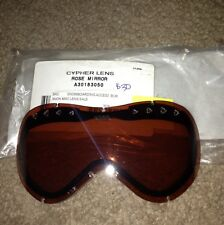 Anon Replacement Lens for Cypher Goggles - Rose Mirror - NEW