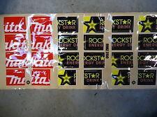 Suzuki RMZ250 Makita Rockstar Radiatore louvre grafico set adesivi motocross