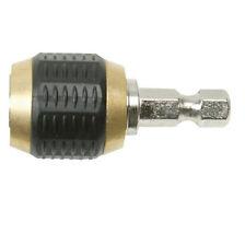 Quick Chuck & Grip - Drill/Screwdriver Bit Holder - 1/4 Inch Hex Shank