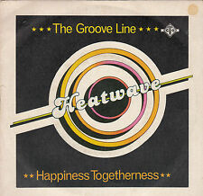 HEATWAVE - the groove line / happiness togetherness 45""