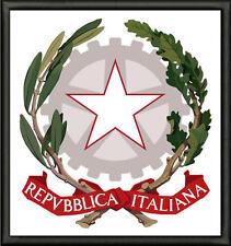 Wappen von Italien Patch Aufnäher, Pin ,Aufbügler.