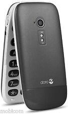 Doro Phone Easy 631 - Black (Unlocked) Big Button, FM, Camera 3G Mobile Phone