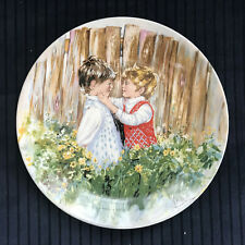 Be My Friend 1981 Collector Plate 1st Ed by Mary Vickers Wedgwood