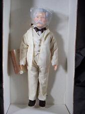 """Effanbee Doll Great Moments Series Mark Twain #7631 16"""""""