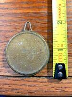 Old Clock Pendulum Bob (1.8 oz)     (K829)
