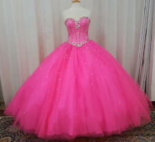 NEW Vizcaya by Mori Lee XV Sweet 16 Quinceanera Dress 89017 Pink Panther Size 10
