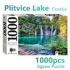 Plitvice Lakes Jigsaw Puzzles 1000 Pieces Set Adult Kids Toys Activity Games CP