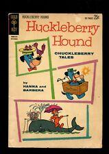 HUCKLEBERRY HOUND CHUCKLEBERRY TALES 18 (2.0) GOLD KEY (b002)