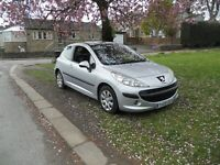 Peugeot 207 1.6HDI 90 ( a/c ) S , full SERVICE HISTORY! £30 A YEAR TAX!